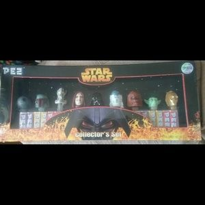 Star Wars Limited edition PEZ dispensers